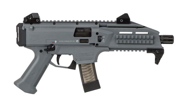Picture of CZ Scorpion EVO 3 9mm Grey Semi-Automatic 10 Round Pistol