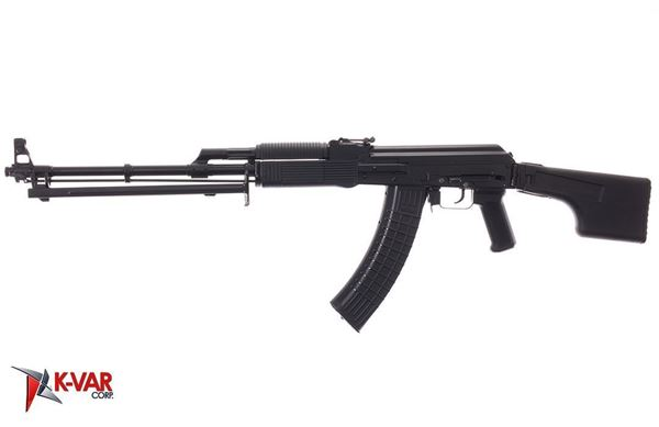 Picture of Molot Vepr RPK74-33 5.45x39mm Black Semi-Automatic Rifle with Folding Buttstock