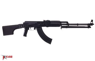Picture of Molot Vepr RPK47-33 7.62x39mm Black Semi-Automatic Rifle with Folding Buttstock