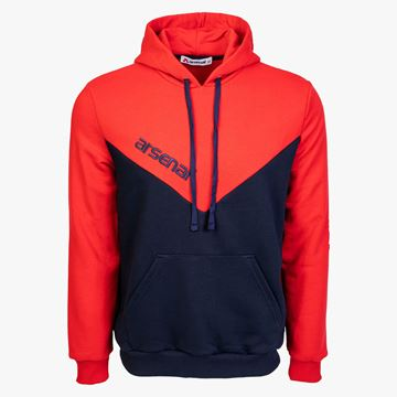 Picture of Arsenal Blue / Red Sport Cotton-Poly Relaxed Fit Pullover Hoodie