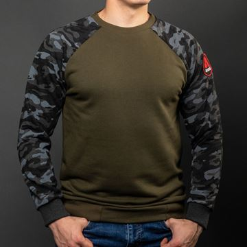 Picture of Arsenal Camo Series Utility Cotton-Poly Standard Fit Pullover Sweater