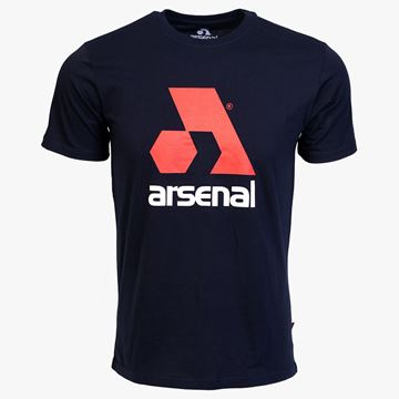 Picture of Arsenal Blue Cotton Relaxed Fit Logo T-Shirt