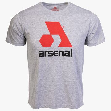 Picture of Arsenal Gray Cotton Relaxed Fit Logo T-Shirt