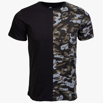 Picture of Arsenal Black / Camo Cotton Relaxed Fit Logo T-Shirt