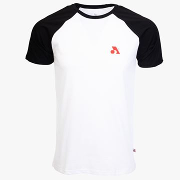 Picture of Arsenal White / Black Cotton Relaxed Fit Retro T-Shirt