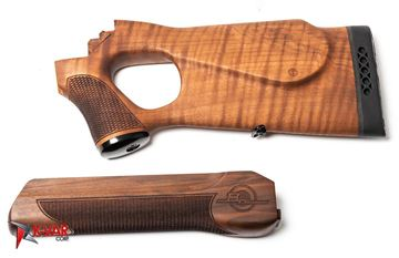Picture of FIME Group Walnut Buttstock and Handguard Set with Molot Logo Engraving for Vepr Rifles and Shotguns