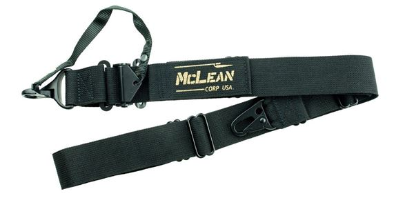 Picture of McLean Corp USA Black Dynamic Retention Sling