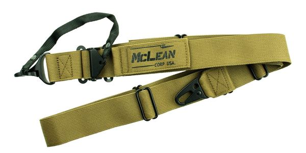 Picture of McLean Corp USA Coyote Brown Dynamic Retention Sling
