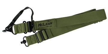 Picture of McLean Corp USA Ranger Green Dynamic Retention QD Swivel Sling