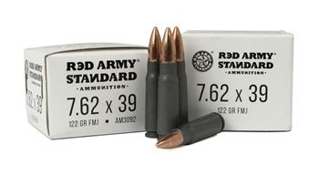 Picture of Red Army Standard 7.62x39mm 122 Grain Full Metal Jacket 1,000 Round Case
