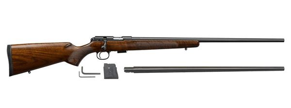 Picture of CZ 457 American 22LR 17HMR Combo Bolt Action Rifle