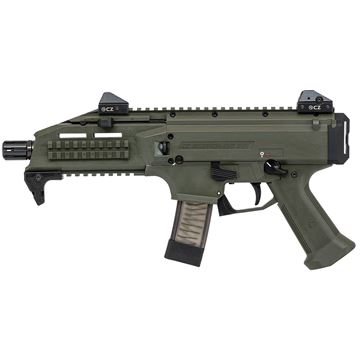 Picture of CZ Scorpion EVO 3 S1 9mm OD Green Semi-Automatic 20 Round Pistol
