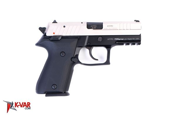 Picture of Arex Rex Zero 1CP-08B1 Silver with Hogue Black Grips 9mm Semi-Automatic 15 Round Pistol