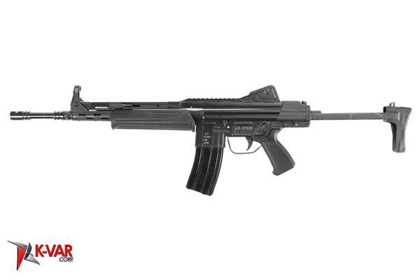 Picture of MarColMar Firearms CETME LC GEN 2 5.56x45mm / 223 Rem Black Semi-Automatic Rifle