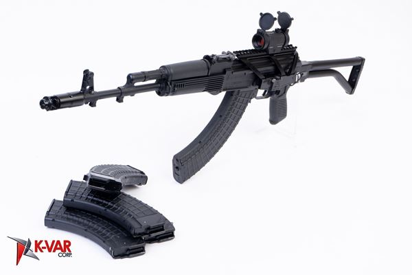 Picture of Arsenal SAM7SF 7.62x39mm Complete Package AK47 Includes Mags Scope and Mount