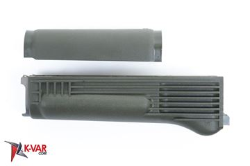 Picture of Arsenal OD Green Polymer Handguard Set with Stainless Steel Heat Shield  for Milled Receivers