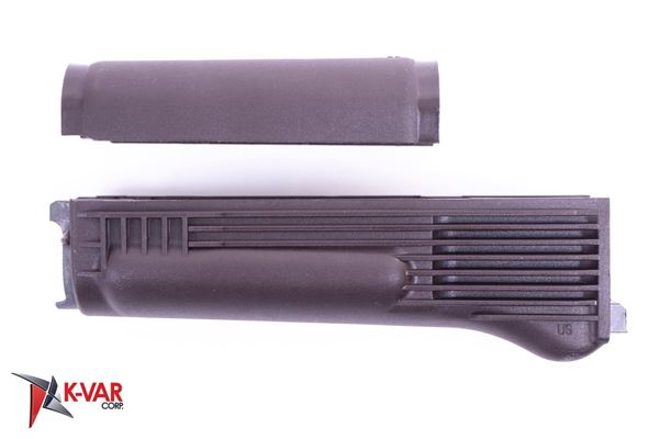 Picture of Arsenal Plum Polymer Handguard Set with Stainless Steel Heat Shield for Milled Receiver