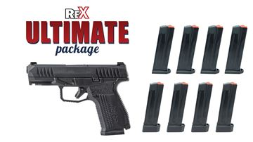 Picture of Arex Rex Delta Ultimate Package 9mm Pistol 8 Magazines