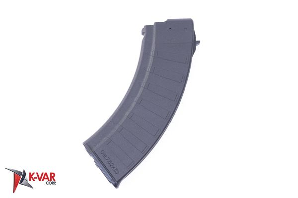 Picture of Polymaggs 7.62x39mm Black Polymer 30 Round Magazine