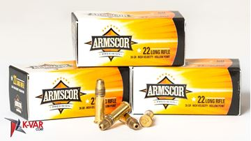 Picture of Armscor 22 LR 36 Grain Hollow Point 500 Round Case