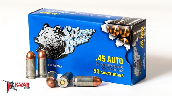 Picture of Bear Ammo 45ACP 230 Grain Full Metal Jacket 500 Round Case