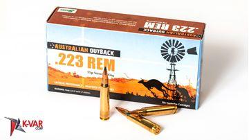 Picture of Australian Outback 223 Rem 55 Grain Sierra Blitzking 20 Round Box