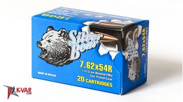 Picture of Bear Ammo 7.62x54R 174 Grain Full Metal Jacket 500 Round Case