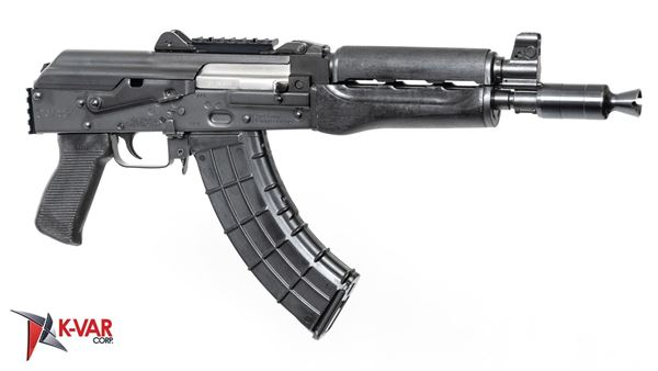 Picture of Zastava ZPAP92 7.62x39mm Semi-Automatic 30 Round AK47 Pistol with Booster Muzzle Brake and Rails