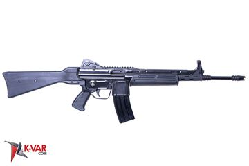 Picture of MarColMar Firearms CETME L Gen 2 223 Rem / 5.56x45mm Black Semi-Automatic Rifle with Rail