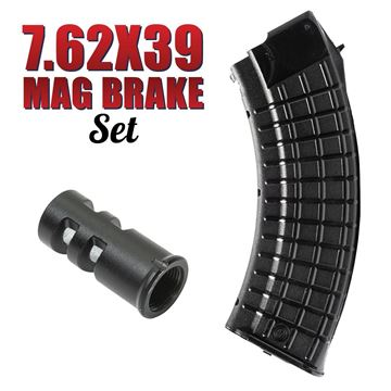 Picture of Arsenal AK47 7.62x39mm 30 Round Magazine and Muzzle Brake Package