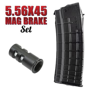 Picture of Arsenal AK74 30rd 5.56x45 Magazine and Muzzle Brake Package