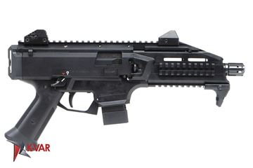 Picture of CZ Scorpion EVO 3 S1 9mm Black Semi-Automatic 10 Round Pistol