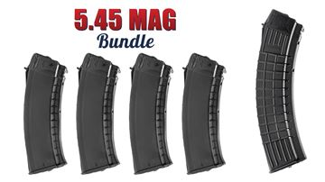 Picture of Arsenal Circle 10 AK74 5.45x39 Magazine 165 Rounds Bundle