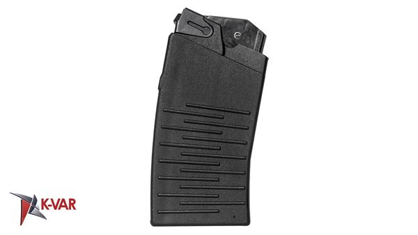 Picture of Molot Vepr 12 Gauge Black Polymer 5 Round Magazine