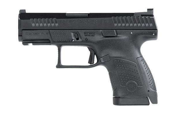 Picture of CZ P-10S 9mm Black Semi-Automatic Pistol 12rd Black