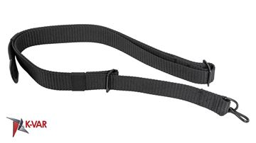 Picture of Arsenal Nylon Black Sling with Single Point Attachment for AK47, AK74 and AKM Rifles