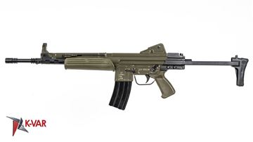 Picture of MarColMar Firearms CETME LC GEN 2 5.56x45mm / 223 Rem Spanish Green Semi-Automatic Rifle without Rail