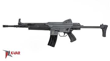Picture of MarColMar Firearms CETME LC GEN 2 5.56x45mm / 223 Rem Grey Semi-Automatic Rifle