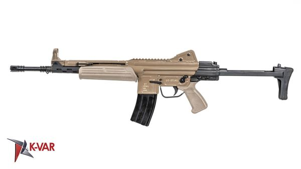 Picture of MarColMar Firearms CETME LC GEN 2 5.56x45mm / 223 Rem Flat Dark Earth Semi-Automatic Rifle