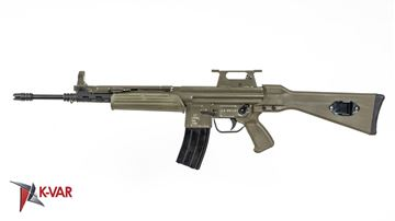 Picture of MarColMar Firearms CETME LV 5.56x45mm / 223 Rem Spanish Green Semi-Automatic Rifle