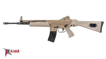 Picture of MarColMar Firearms CETME L Gen 2 5.56x45mm / 223 Rem FDE Semi-Automatic Rifle without Rail