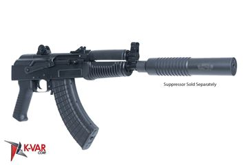 Picture of Arsenal SAM7K-34ASR 7.62x39mm Semi-Automatic Suppressor Ready Pistol with Rear Quick Detach Port