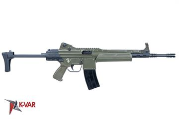 Picture of MarColMar Firearms CETME LC GEN 2 5.56x45mm / 223 Rem Spanish Green Semi-Automatic Rifle with Rail