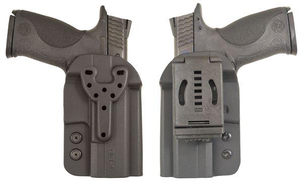 Picture of CompTac QB OWB Kydex Holster- Modular Fit-Size 3-Black
