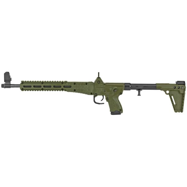 Picture of KelTec Sub 2000 Gen 2 9mm Green Semi-Automatic 15 Round Rifle