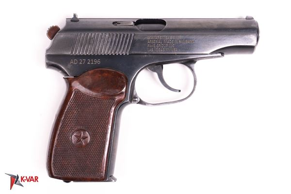 Picture of Arsenal AD272196 9x18mm Makarov 8 Round Bulgarian Pistol 1987