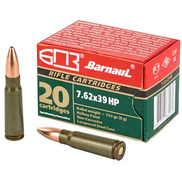 Picture of Barnaul 7.62X39mm 123Gr Hollow Point 500 Rounds Ammunition