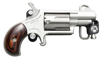 Picture of North American Arms Skeleton Belt Buckle and 22 LR Revolver Combo