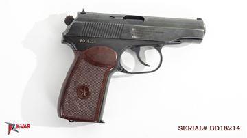 Picture of Arsenal BD18214 9x18mm Makarov 8 Round Bulgarian Pistol 1978