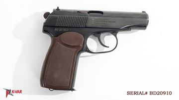 Picture of Arsenal BD20910 9x18mm Makarov 8 Round Bulgarian Pistol 1980